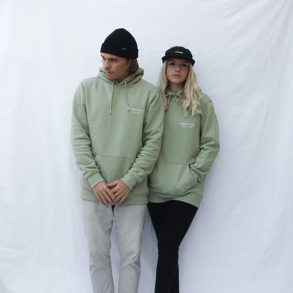 Holocene Made For Nature Sage Hoodie