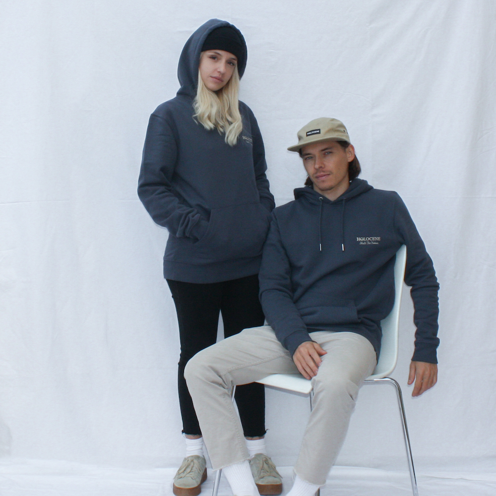 Holocene Made For Nature IndianGrey Hoodie